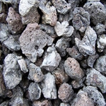 Phoenix Stone COmpany, Phoenix Stone, Black Lava Rock, Bagged Black Lava Rock, 1 Cu Ft Bagged Black Lava Rock, Lava Rock, Black Lava, Rock, Decorative Lava Rock, Bagged Lava ROck017727074689,048823013029