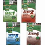 Scotts, Lawn Pro, Lawn, Fertilizer, Fall, Spring, Summer, Weed Control, Crabgrass Preventer, Insect Control, Fall Fertilizer, 4 Step Program, 15M, 5M, 4 Step, Step 1, Step 2, Step 3, Step 412906,12906,017727070216,017727070216