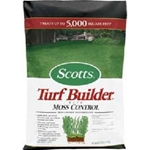 Scott's, Turf Builder with Moss Control, Turf Builder, Moss COntrol, Moss Preventer, Moss Prevention, 5M, 5000 Sq Feet032247035057,032247335058,032247033558