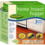 Spectrum, Schultz, Green Thumb, GT, Home Insect Fogger, Indoor Insect Fogger, 3 Pack, 6 Oz052088106723