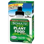 Spectrum, Schultz, All Purpose Liquid Plant Food, Liquid Plant Food, All Purpose, 10-15-10, Fertilizer, Plant Food, 4 Oz, 8 Oz072845010124
