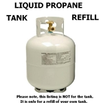 Liquid Propane LPG Tank Fill Up