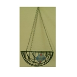 "Gardman, R439, R440, R441, R442, Green Wire Hanging Basket, Hanging Basket, Planter, Green, Wire, 10"", 12"", 14"", 16""11426,745487004393"