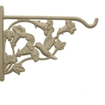 "Panacea Products, Panacea, 8"" Hanging Plant Bracket, 8"" Hummingbird Design Hanging Plant Bracket, 8"" Sand Colored Hanging Plant Bracket, 8"" Plant Bracket093432850046"