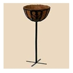 Bosmere, Chelsea Topiary Basket Stand, F912, Chelsea Topiary Basket, Topiary Basket Stand, Basket with Coco Liner, Basket Stand, Planter Stand721082069128