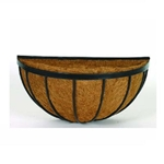 Gardman, Wall Manger, Georgian, Basket, Planter, Wall, Liner, Coco Liner, R214, R215, R216, Black, Metal18455,745487002146
