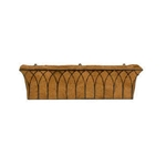 "Gardman, R812, 36"" Gothic Wall Trough, Gothic, 36"", Wall, Trough, Planter, Basket, Window Box745487008124"
