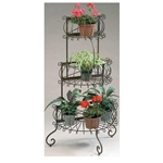 Deer Park Ironworks, Deer Park Iron Works, Deer Park, 3 Tier Black Plant Stand, Planter Stand, 3 Tier Plant Stand, PL101, Black Plant Stand, 3 Tier, Plant Stand, 3 Tier Planter Stand702085401214