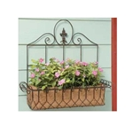 Deer Park Ironworks, Deer Park, Square French Window Box, French Window Box, WB129, Window Box, Square Window Box, Wall Basket, Square Wall Basket702065400217,702085400217