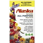 Lilly Miller, Alaska, Alaska 9-4-4 All Purpose Sprayable Fish Emulsion Fertilizer, 9-4-4, Fish Emulsion Fertizer, Organic Fertilizer, Fish Fertilizer, 3 Lb022671300036