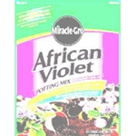 Scotts, Miracle Gro, African Violet Potting Mix, Potting Soil, Potting Mix, 5-5-5, Container, African Violet, 8 Quart, 8 Qt032247267830