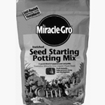 Scotts, Miracle Gro, Seed Starting Potting Mix, Potting Soil, Potting Mix, Seed Starter, 8 Qt, 8 Quart032247507837