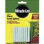Scotts, Miracle Gro, Plant Spikes, Plant Food, Spike, Stakes, 6-12-6, Indoor, Indoor Plants, Plant Stake, Plant Food Spikes2162,073561002523