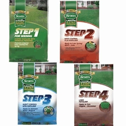 Scotts, Lawn Pro, Lawn, Fertilizer, Seeding, Fall, Spring, Summer, Weed Control, Crabgrass Preventer, Insect Control, Fall Fertilizer, 4 Step Program, 15M, 5M, 4 Step, Step 1, Step 2, Step 3, Step 4, Safe for Seeding12908