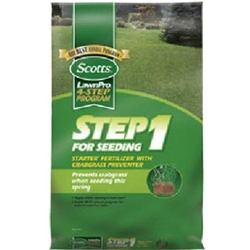 Scott's, Step 1 for Seeding, Seeding, New Lawn, Lawn Fertilizer, Crabgrass Preventer, Starter Fertilizer, Starter, Fertilizer, 5M2167,157636,032247369473