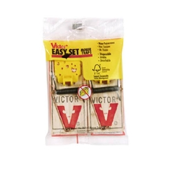 Woodstream, Victor, Victor Brand, Victor Easy Set Mouse Trap, Easy Set Mouse Trap, Mouse Trap, 2 Pack Mouse Trap072868130359