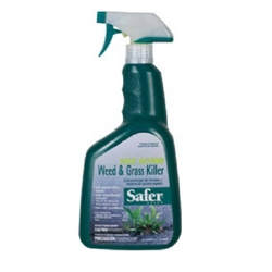 Woodstream, Safer, Safer Brand, Safer Brand Weed and Grass Killer, 5055, 32 Oz Weed and Grass Killer, Weed Killer, Grass Killer, Safer Brand 5055 Weed and Grass Killer, Fast Acting Weed and Grass Killer, Fast Acting024654028005
