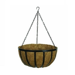 "Gardman, R945, R946, R947, Forge Hanging Baskets, Black, Planters, Hanging, Forge, Baskets, 12"", 14"", 20""23936,745487009473"