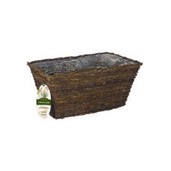 "Gardman, R499, R500, Rustic Rattan Trough, Patio Planter, Planter, Rustic, Rattan, Wall Trough, Basket, 20"", 30""22248,745487004997"