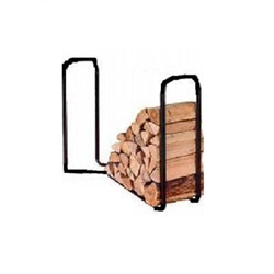 Cardinal Home Products, Black Half Face Cord Log Rack, Firewood Log Rack, Half Face Cord LOg Rack, Black Log Rack, Half Face Cord Rack09891,017727098913,050528120122,050528150121