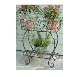 Deer Park Ironworks, Deer park Iron Works, Deer Park, Oval Wave Planter, PL204, Oval Plant Stand, Oval Wave Plant Stand, Plant STand, Planter, Oblong Plant Stand, Oblong702085400118