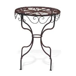 Deer Park Ironworks, Deer Park Iron Works, Deer Park, Ice Cream Table, Ice Cream, Table, DT206, Patio Table, Side Table, End Table702085400712