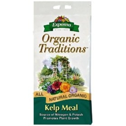 Espoma, Kelp Meal, 27045, KELPMEAL4LB, kelp, meal, organic flower fetilizer, organic flower food, organic, organic lawn fertilizer, organic garden food, organic garden fertilizer, organic tree food, organic tree fertilizer, flower bed food, lawn food, garden food, tree food, fertilizer, potash, nitrogen050197027045