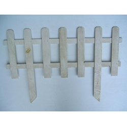 "MAT, Midwest Air Technology, White Picket Border Fence, Picket Fence, White Fence, Border Fencing, White Picket, 36"" x 24""7683,087048172425"
