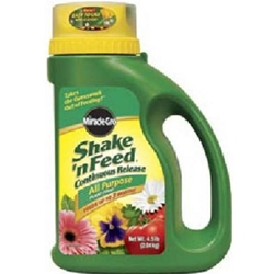 Scotts, Miracle Gro, Shake N Feed, All Purpose Plant Food, Bag, Shaker Container, 4.5 Lb, 8 Lb, Plant Food, Fertilizer, Shake and Feed20832,073561007191,073561007198