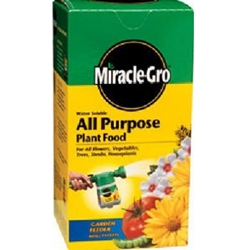 Scotts, Miracle Gro, Nursey Select Plant Food, All Purpose, Nursery Select, Water Soluble, 20-20-20, 1 Lb, 4 Lb073561260015